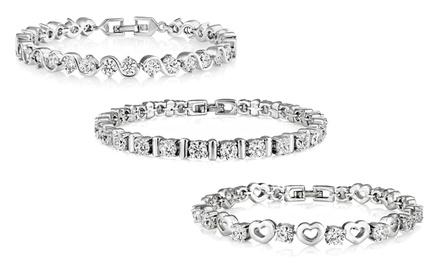 1, 2 ou 3 Bracelets avec cristaux Swarovski® dès 16,99€