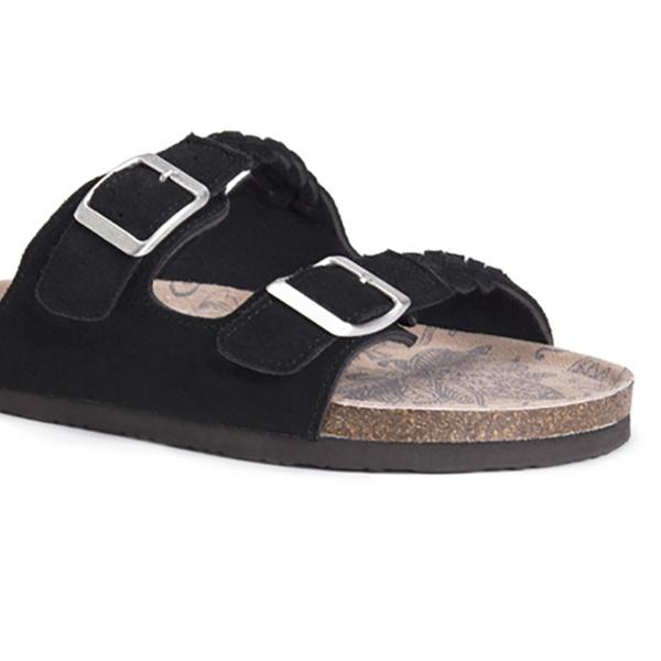 6882d4b369a Muk Luks Women s Juliette Sandals with Memory Foam