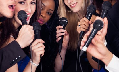 Karaoke Party for Six or Twelve with One or Two Cocktail Pitchers at Slam Star Karaoke (Up to 51% Off)