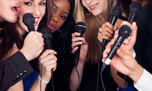 Slam Star Karaoke: Karaoke Party for Six or Twelve with One or Two Cocktail Pitchers at Slam Star Karaoke (Up to 51% Off)