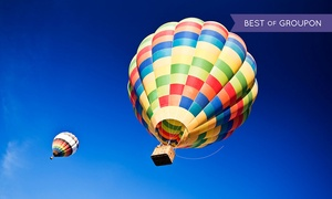 53% Off Hot Air Balloon Rides with Champagne at Arizona Balloon Safaris, plus 6.0% Cash Back from Ebates.