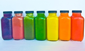 Juicer Heroes: Fresh Cold-Pressed Juice and Cleanses at Juicer Heroes (Up to 53% Off)
