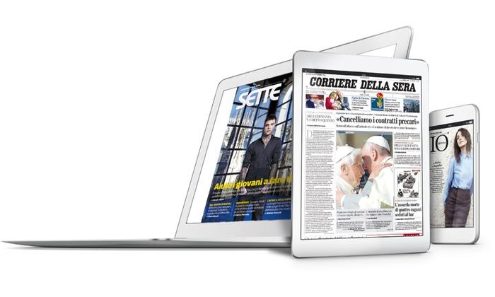 corriere della sera digital edition coupon