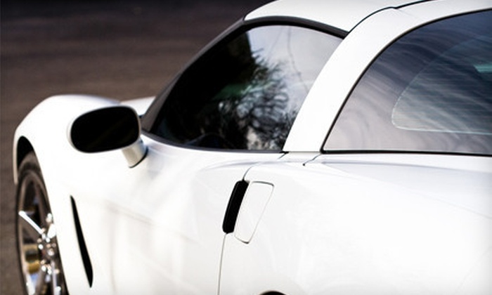Texas Car Stereo - Multiple Locations: Auto Window Tinting for Two, Five, or Seven Windows at Texas Car Stereo (Up to 64% Off)