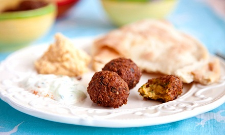 Mediterranean Fusion Food at Mezze (35% Off). Two Options Available.