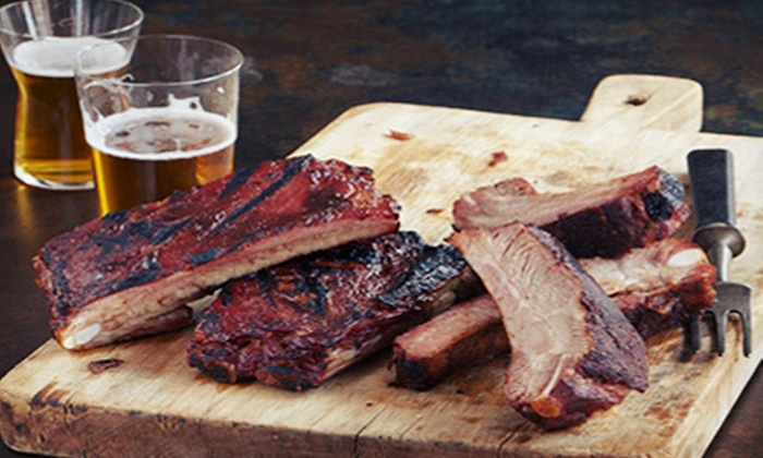 Brother Jimmy's BBQ - Multiple Locations: $35 for Bourbon Tasting and Derby Party with Southern Barbecue on Saturday, May 4, at Brother Jimmy's BBQ ($75 Value)