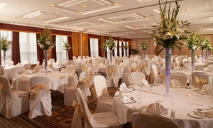 Hilton Croydon Hotel - Non-Accommodation: Wedding Package For 50 Day and 80 Evening Guests for £2,999 at 4* Hilton Croydon Hotel
