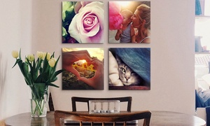 "Four 12""x12"" Or 16""x16"" Custom Premium Canvas Wraps At Canvas On Demand (up To 85% Off)"