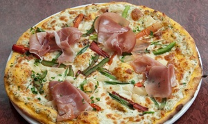 Pizzarustica: Three-Course Prix Fixe Dinner for Two or Sunday Brunch Buffet for One at Pizzarustica (Up to 56% Off)