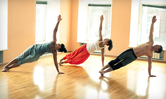 Cosmic Dog Yoga - Livermore: 10, 20, or Three Months of Unlimited Yoga Classes at Cosmic Dog Yoga (Up to 80% Off)