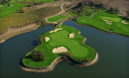 18-Hole Round of Golf with Cart Rental for Two or Four at Eagle Vines Vineyards and Golf Club (Up to Half Off)