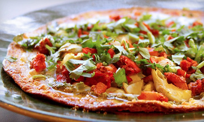 Bombay Pizza Company - Multiple Locations: $7 for $15 Worth of Pizza (or $20 if Redeemed During Lunch Monday–Thursday in Sugar Land) at Bombay Pizza Company