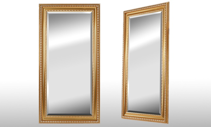 Miroir dor groupon shopping for Grand miroir mural