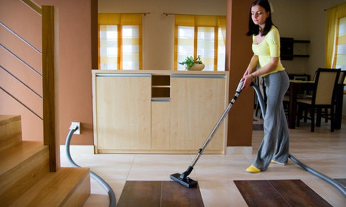 BreakTime Cleaning Services - Downtown Winnipeg: Two Hours of Housecleaning or a Complete Kitchen Cleaning from BreakTime Cleaning Services (Up to 66% Off)