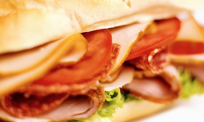 Subs Plus - Windsor Hills: $10 for Two Groupons, Each Good for $10 Worth of Sub Sandwiches at Subs Plus ($20 Value)