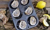 Liv's Oyster Bar - Old Saybrook Center: One Dozen Oysters and Two Glasses of Wine or Beer at Liv's Oyster Bar (Up to 51% Off). Two Options Available.