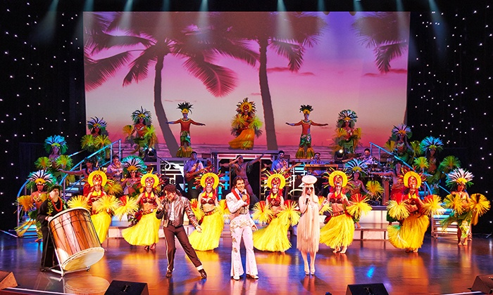 Rock-A-Hula - Waikiki: Rock-A-Hula Cocktail Show for an Adult or Child at the Royal Hawaiian Theater (Up to 40% Off)