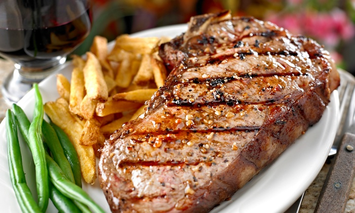 The Drum & Monkey - Alderley Edge: Two-Course Steak Meal with Wine for Two or Four at The Drum & Monkey (Up to 56% Off)