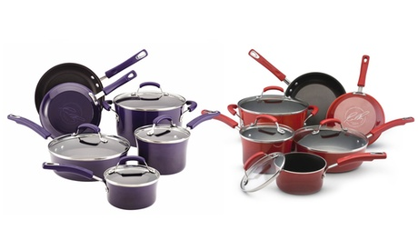 Rachael Ray Hard Enamel Cookware Set (10-Piece) 5152662a-29f0-11e7-894e-00259069d7cc