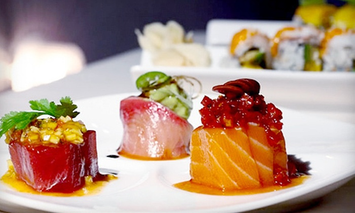Hachi Restaurant & Lounge - Lower East Side: Prix Fixe Sushi and Asian-Fusion Meal with Drinks for Two or Four at Hachi Restaurant & Lounge (Up to 68% Off)