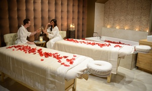 Luxe Den Spa: Swedish Massage, Facial, Couples Massage, or Couple's Rendezvous Spa Package at Luxe Den Spa (Up to 38% Off)