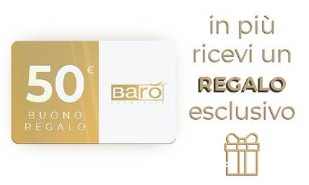 Gift Card da 50 € in prodotti cosmetici sul sito di Barò Cosmetics®. Consegna Gratuita