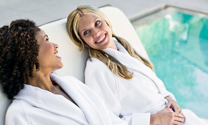 Infinity Day Spa - Crystal Lake: 60-Minute Couples Massage with Optional Facials at Infinity Day Spa (Up to 59% Off)