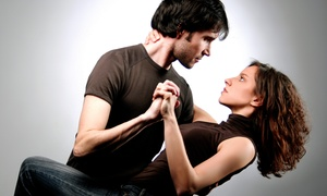 Happy Feet Dance Studios: Introductory Ballroom Dancing Lessons for One or Two at Happy Feet Dance Studios (Up to 93% Off)