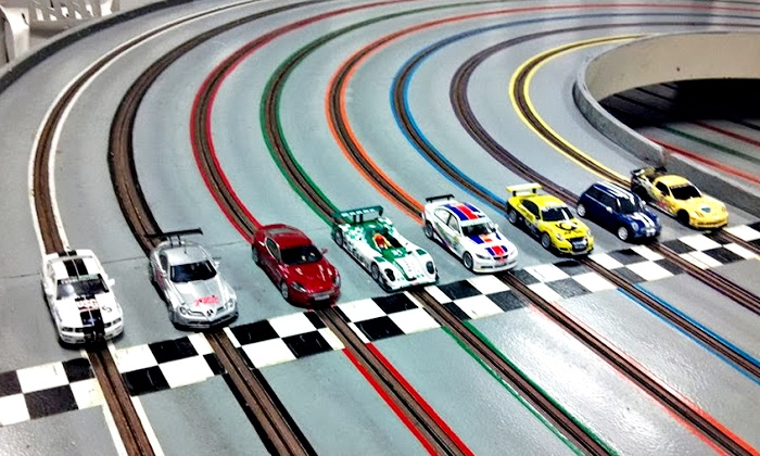 Elmsford Raceway - Greenburgh: One-Hour of Slot-Car Racing for Two on Recreational or Expert Track at Elmsford Raceway (Half Off)
