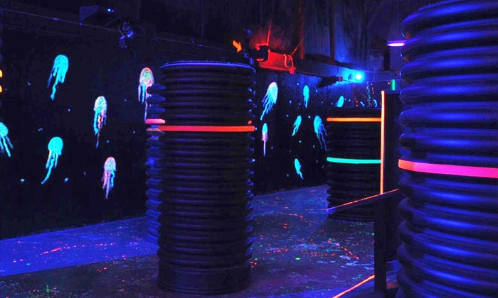 Jaegerz Laser Tag - Jaegers Paintball Complex: Three 10-Minute Games of Laser Tag for Two, Four, or Six at Jaegerz Laser Tag (Up to 56% Off)