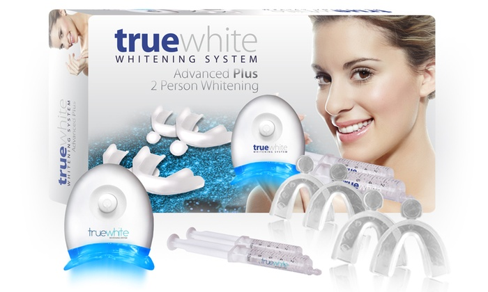 Truewhite Advanced Plus 2 Person Whitening System Groupon