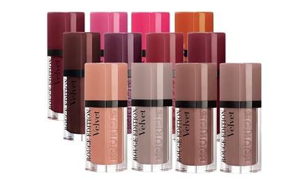 Bourjois Rouge Edition Velvet Lipstick FourPack