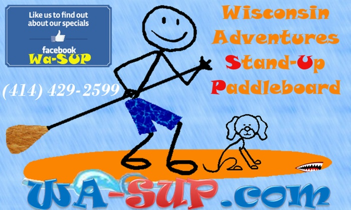 Wisconsin Stand Up Paddle Boarding - Franklin: Up to 60% Off Paddleboarding at Wisconsin Stand Up Paddle Boarding