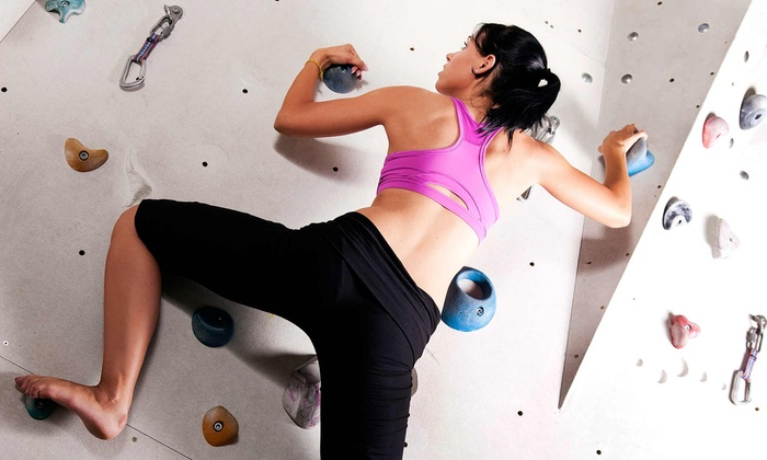 Asana Climbing - Northwest: One-Day or One-Month Indoor-Climbing Pass or Two-Hour Birthday for Up to 10 at Asana Climbing (Up to 50% Off)