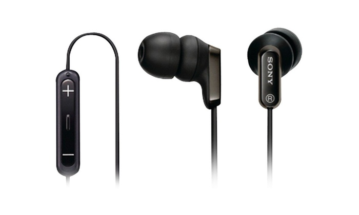 Sony MDREX38iP Earbuds with Apple Remote: Sony MDREX38iP Earbuds with Apple Remote. Free Returns.