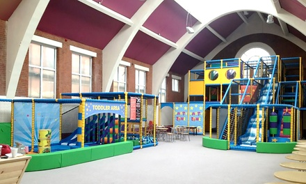 Soft Play Entry and Drink for One, Two or Four Kids at Pirates Play Centre (Up to 44% Off)