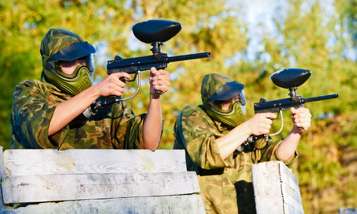 Delta Force Paintball - Fort Saskatchewan: Paintball with Rental Gear for One, Two, Four, or Eight at Delta Force Paintball (Up to 66% Off)