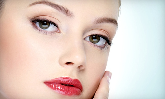 Fountain Of Youth Aveda Salon Spa - Point Breeze: Permanent Makeup on Lip Line, Partial or Full Lips, Eyes, or Brows at Fountain Of Youth Aveda Salon Spa (Up to 72% Off)