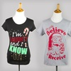 $4.99 for a Women's Holiday T-shirt