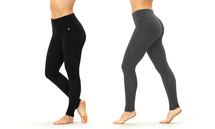4b8b705eeff9e Bally Fitness Women s Tummy-Control Leggings   Groupon