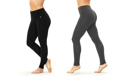 "Bally Fitness Women's 27"" Inseam Tummy-Control Leggings"