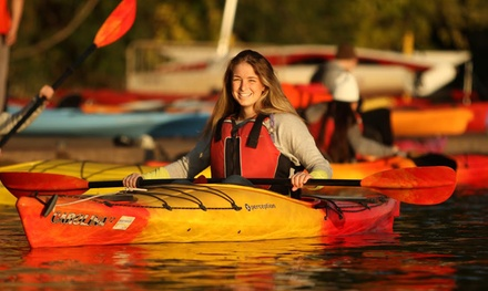 $110 for a New-Member Season Pass for Canoe, Kayak, and Paddleboard Rentals from Boating in Boston ($199 Value)