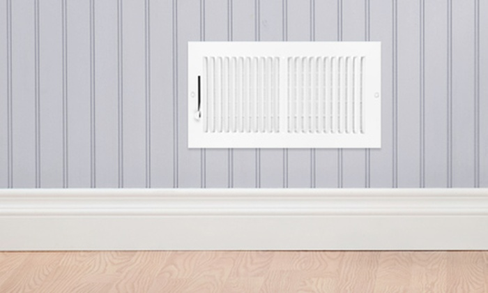 Mrs. Carpet and Mr. Duct - Houston: $49 for Air-Duct Cleaning for One AC System and Dryer-Vent Inspection from Mrs. Carpet and Mr. Duct ($249 Value)