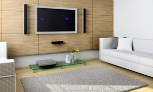 Winters Solutions LLC: TV Mounting with Optional Hidden Wiring, or a TV-Mounting Package from Winters Solutions LLC (Up to 56% Off)