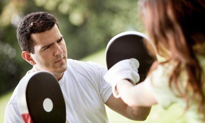 Topanga Training & Fitness - Warner Center: 6 or 12 Cardio-Boxing Sessions at Topanga Training & Fitness (Up to 52% Off)