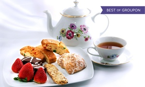 Ashes' Boutique & Tea Garden: $19 for Afternoon Tea for Two at Ashes' Boutique & Tea Garden ($35.90 Value)