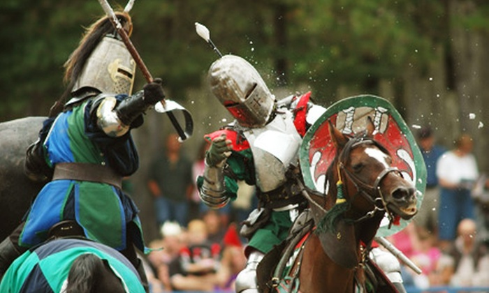 King Richard's Faire - Carver: Renaissance-Festival Outing for Two or Four at King Richard's Faire in Carver (Up to 47% Off)