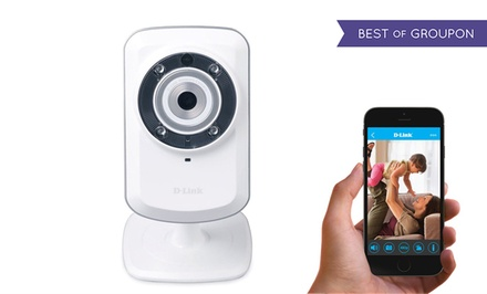 D-Link Wireless Day/Night Network Surveillance Camera with Remote Viewing  (DCS-932L)