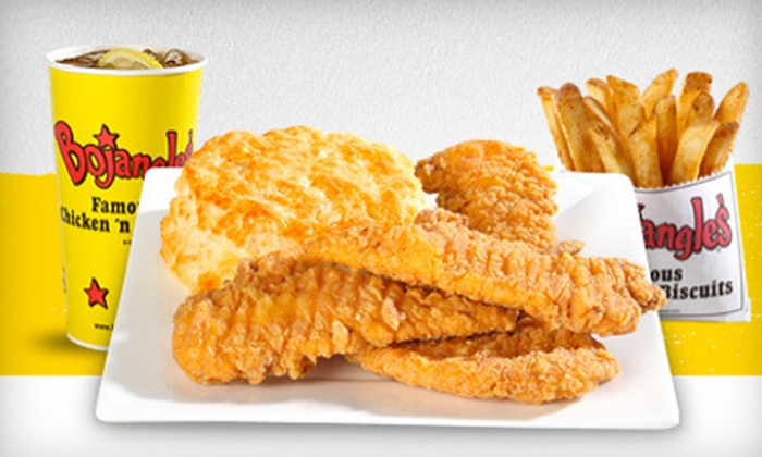 Bojangles' - Hampton Roads Center: $3 for Two Cajun Filet Biscuits at Bojangles' in Hampton ($6 Value)