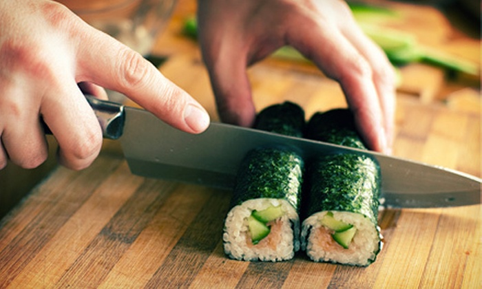 Rice: Asian Fusion Cuisine and Sushi Bar - People's Freeway: 2.5 Hour Sushi Class for One or Two at Rice: Asian Fusion Cuisine and Sushi Bar (Up to 55% Off)